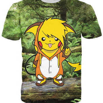 Birdychu as Raichu T-Shirt