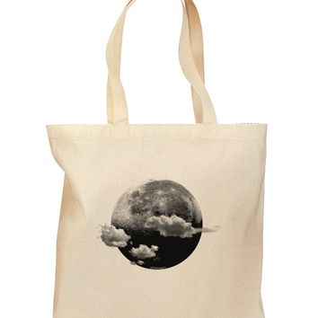 Moon Dream Earth Grocery Tote Bag