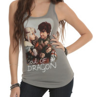 How To Train Your Dragon Soul Of A Dragon Girls Tank Top