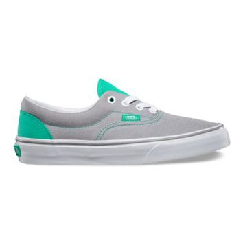 Vans Heel Pop Era (sleet/mint leaf)