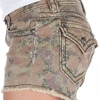 Miss Me Floral Stretch Short - Women's Shorts | Buckle