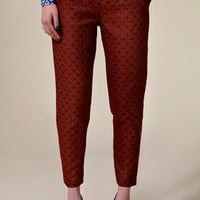Boutique Tamsin Brocade 7/8th Trousers