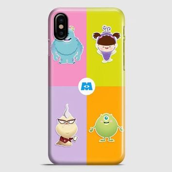 Monster Inc Cute Baby iPhone X Case
