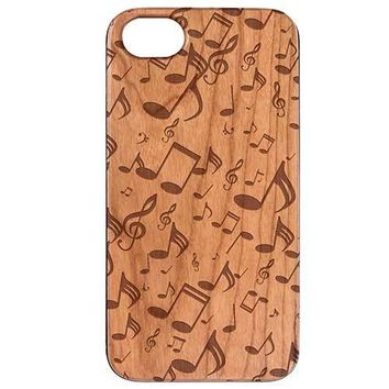Music Note Pattern Phone Case
