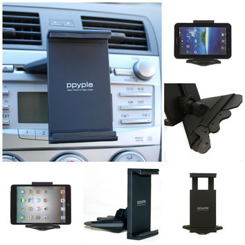 "Ppyple Universal Car CD Slot Mount for iPad Mini Samsung Galaxy Tab 7""  Nexus 7"""