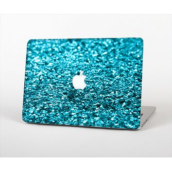 "The Turquoise Glimmer Skin Set for the Apple MacBook Pro 13"" with Retina Display"