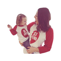 Mommy and Me, Mother Daughter Best Friends Shirt