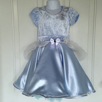 Cinderella Costume, Disney Princesses, Cinderella Dress, Ballet clothes, Ballet Costume,Ballet dress, Toddler Dress, Dress up Clothes,