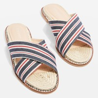 Hibiscus Espadrille Sandals - Sandals - Shoes