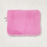 "Pink Furry 13"" Laptop Sleeve 