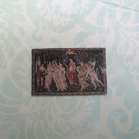 Dollhouse Miniature Primavera Art Print Panel