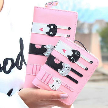 Fashion Women Cat Wallet