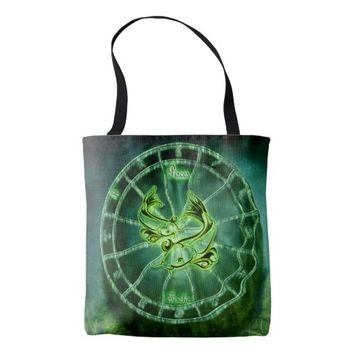 Pices Zodiac Tote Bag