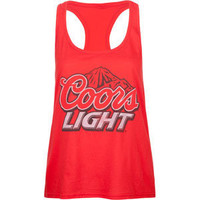COORS LIGHT Womens Tank 201027300 | Tanks & Camis | Tillys.com