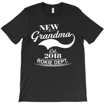 New Grandma 2018 Rokie Dept. T-Shirt