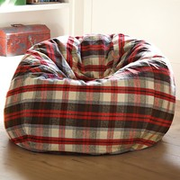 Plaid Beanbag