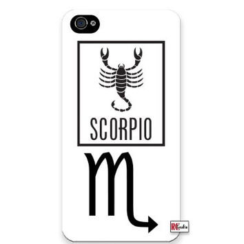 "Premium Direct Print Scorpio Sign Zodiac Horoscope Symbol iphone 6 PLUS Quality Hard Snap On Case for iphone 6 PLUS/Apple iphone 6 PLUS 5.5"" - AT&T Sprint Verizon - White Case PLUS Bonus RCGRafix The Best Iphone Business Productivity Apps Review Guide"