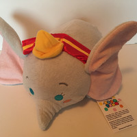 Disney Store  75th Anniversary Dumbo Medium Tsum Plush New with Tags