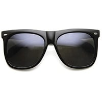 Oversize Retro Hipster Horned Rim Sunglasses 8889