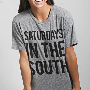 charlie southern: saturdays in the south t shirt