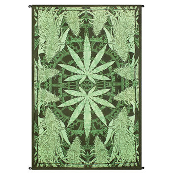 Hemptastic Leaf Tapestry on Sale for $27.95 at The Hippie Shop