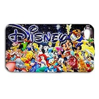 Disney Cute Characters Custom Phone Case iPhone 5 iPhone 5c 4 4s 5s 6 Plus New