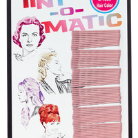 TINT-O-MATIC COLORED BOBBY PINS DUSTY ROSE