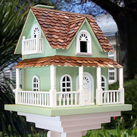 Hobbit Birdhouse in Mint Green - Outdoor Living - Enjoying the Outdoors - Outdoor & Garden - PoshLiving