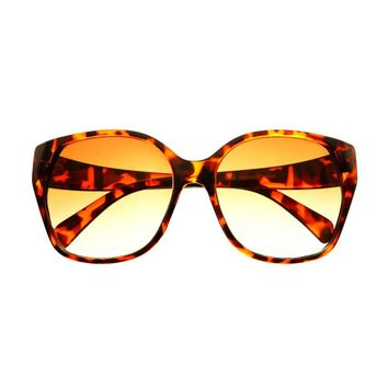 Stylish Womens Retro Vintage Fashion Oversized Sunglasses Shades O36