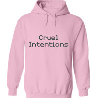 Cruel Intentions Text Only Hoodie