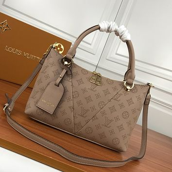 LV Louis Vuitton MONOGRAM LEATHER HANDBAG INCLINED SHOULDER BAG
