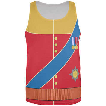 Halloween Prince Charming William Costume All Over Mens Tank Top