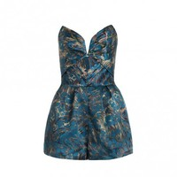 Fortune Marble Tuck Playsuit - The Latest