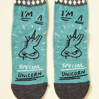 The Legend and the Fan Socks | Mod Retro Vintage Socks | ModCloth.com