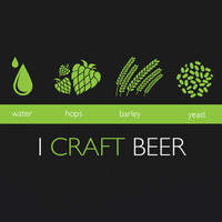 I Craft Beer MENS Home Brewer's T-Shirt