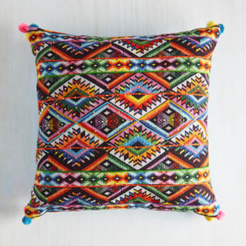 Boho Rest Your Zest Pillow by Karma Living from ModCloth