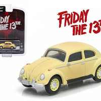 "1963 Volkswagen Beetle ""Friday The 13th Part III"" (1982) Movie Hollywood Series 9 1-64 Diecast Model Car by Greenlight"
