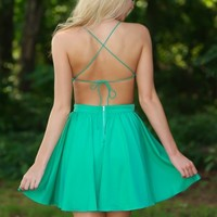Dip & Twirl Dress-Spearmint