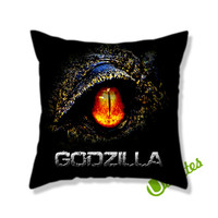 Godzilla 2014 Square Pillow Cover