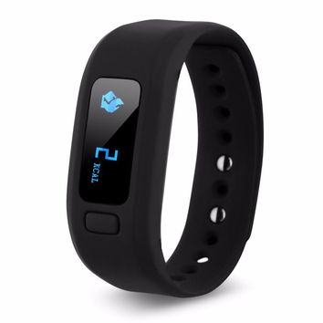 Excelcan Moving Up2 Bluetooth4.0 OLED Smartwatch Sports Bracelet Pedometer Sleep Tracker Call/SMS Reminder for Android Apple IOS