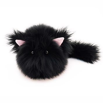 Poe the All Black Cat Stuffed Animal Plush Toy