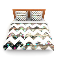 "Beth Engel ""After Party Chevron"" Lightweight Duvet Cover"