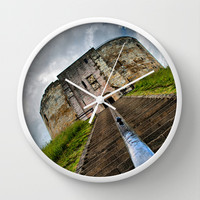 York Castle Wall Clock by Karl Wilson Photography