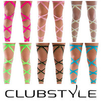 Festival Rave Leg Wraps - Quality Elastic - Rave Accessories - Made in USA