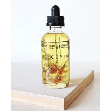 Essential- Tangerine & Lemongrass Body Oil