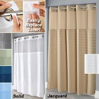 Hookless Shower Curtain @ Fresh Finds