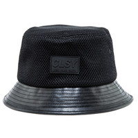 CLSY MESH AND LEATHER BUCKET