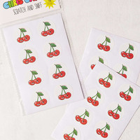Chris Uphues Scratch + Sniff Fruit Stickers - Urban Outfitters