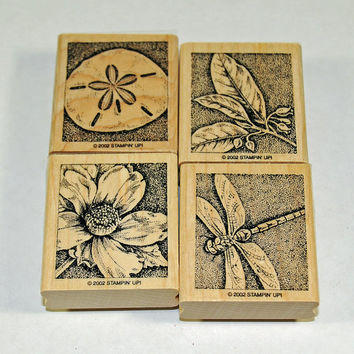 "Stampin Up Stamp Set ""Nature's Wonders"" Rubber Stamps"
