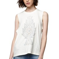 House of Harlow Graphic Muscle Tank - Womens Tee